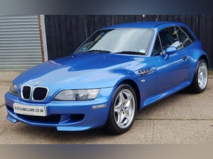 1999 Low Mileage Z3 M Coupe S50 5 Speed - Only 59K Miles - FSH For Sale (picture 3 of 17)