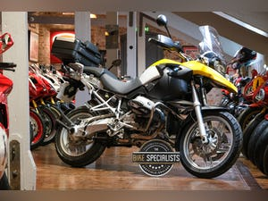 2007 BMW R1200GS Desert Yellow Stunning Low Mileage Example For Sale (picture 1 of 28)
