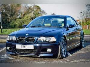 BMW M3 3.2 SMG CONVERTIBLE BLACK 2004 E46 CSL WHEELS For Sale (picture 3 of 20)