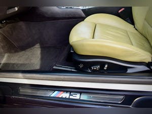 BMW M3 3.2 SMG CONVERTIBLE BLACK 2004 E46 CSL WHEELS For Sale (picture 11 of 20)