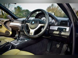 BMW M3 3.2 SMG CONVERTIBLE BLACK 2004 E46 CSL WHEELS For Sale (picture 13 of 20)