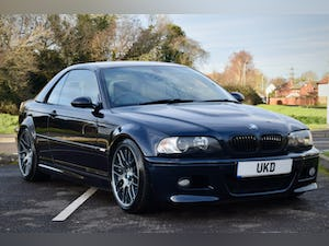 BMW M3 3.2 SMG CONVERTIBLE BLACK 2004 E46 CSL WHEELS For Sale (picture 20 of 20)