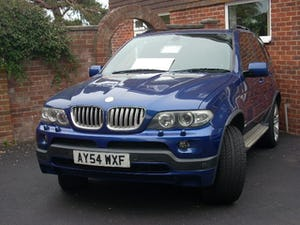 2004 BMW X5 in lemans blue low mileage lpg REDUCED BARGAIN For Sale (picture 1 of 6)
