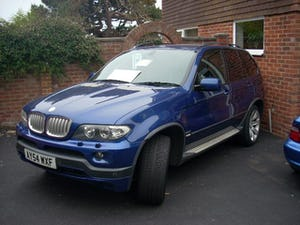 2004 BMW X5 in lemans blue low mileage lpg REDUCED BARGAIN For Sale (picture 2 of 6)