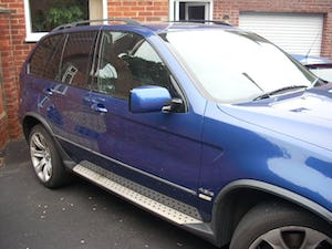 2004 BMW X5 in lemans blue low mileage lpg REDUCED BARGAIN For Sale (picture 3 of 6)