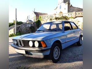 1983 BMW 3 series Preserved car 132k miles Manual e21 For Sale (picture 1 of 4)
