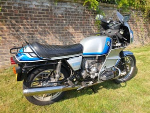 1978 BMW r100rs, first reg. in uk feb. 1980. For Sale (picture 1 of 12)