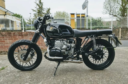 """Picture of 1982 BMW R100 """"Death Machines of London"""" Custom Build For Sale"""