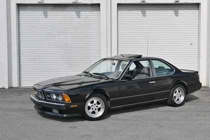 Picture of 1988 BMW E24 M6 Coupe Shark Dry Cali Car Manual $29.9k For Sale