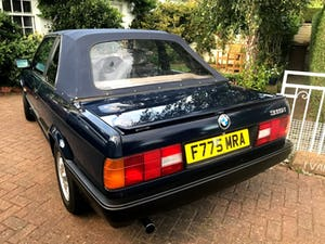 1989 BMW Baur Convertible 316i Automatic For Sale (picture 3 of 8)