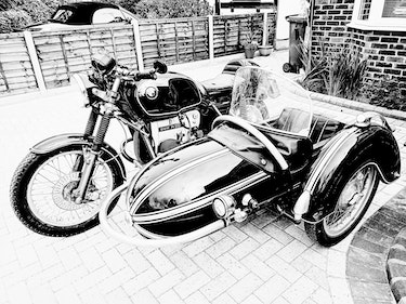Picture of 1977 BMW with Steib S501 Sidecar. For Sale
