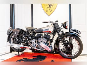 1936 Brough Superior SS80 For Sale (picture 1 of 6)