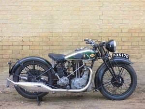 Picture of 1934 BSA W7 500cc SOLD