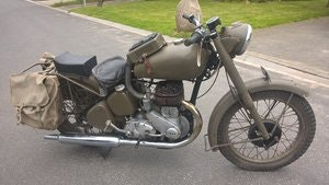 Picture of 1950 Bsa model m21 swedish army For Sale