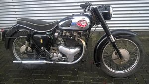 Picture of BSA A10 golden flash 1961 SOLD