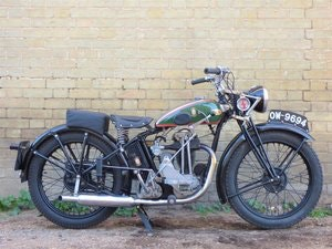 Picture of 1936 BSA B2 250cc SOLD
