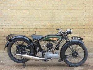 Picture of 1928 BSA S28 500cc SOLD