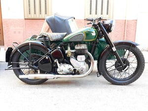1954 BSA M21  600cc. with BSA sidecar - UK plates. For Sale (picture 1 of 6)