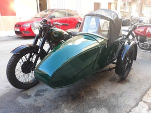 1954 BSA M21  600cc. with BSA sidecar - UK plates. For Sale (picture 4 of 6)