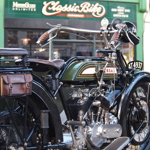 Picture of 1921 BSA Model A 770cc V Twin, Owned By Ex BSA Expert. For Sale