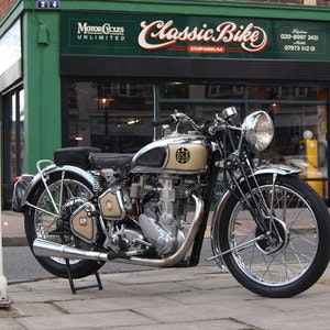 Picture of 1939 BSA M24 500 Gold Star, RESERVED FOR JOHN. SOLD