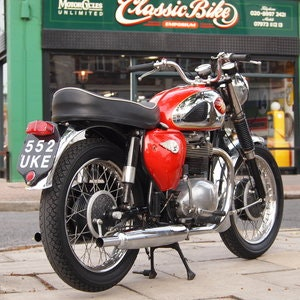 Picture of 1962 BSA A65 650 Star Thunderbolt, Correct Numbers Bike. SOLD