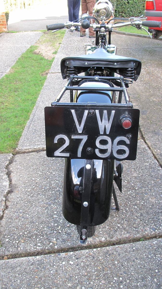 1928 B.S.A Motorbike SOLD (picture 2 of 6)