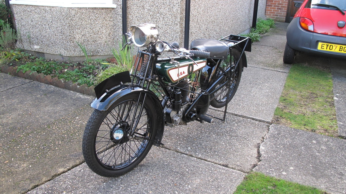 1928 B.S.A Motorbike SOLD (picture 3 of 6)