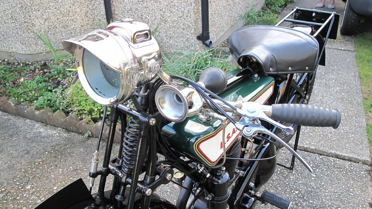1928 B.S.A Motorbike SOLD (picture 4 of 6)