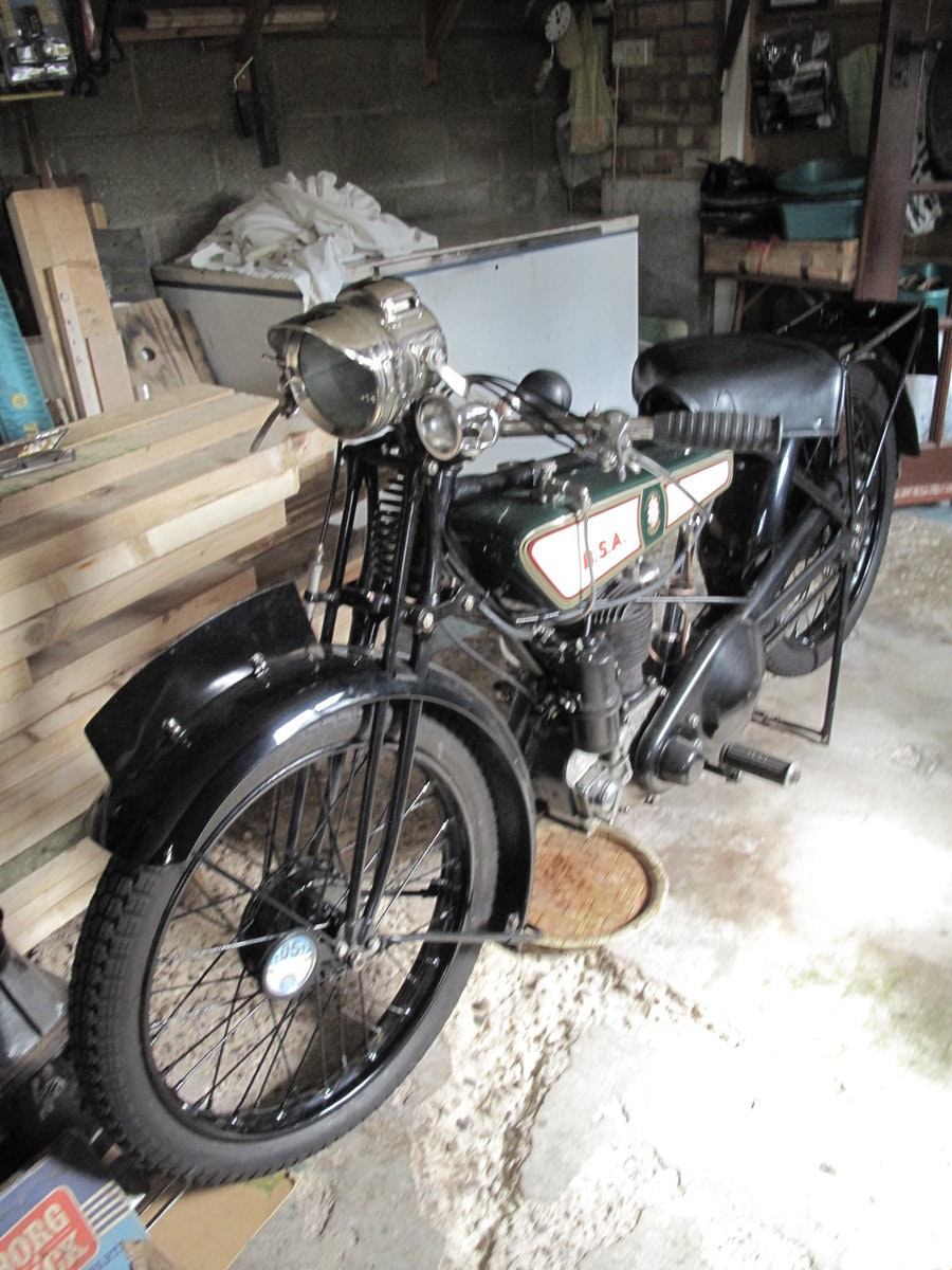 1928 B.S.A Motorbike SOLD (picture 6 of 6)