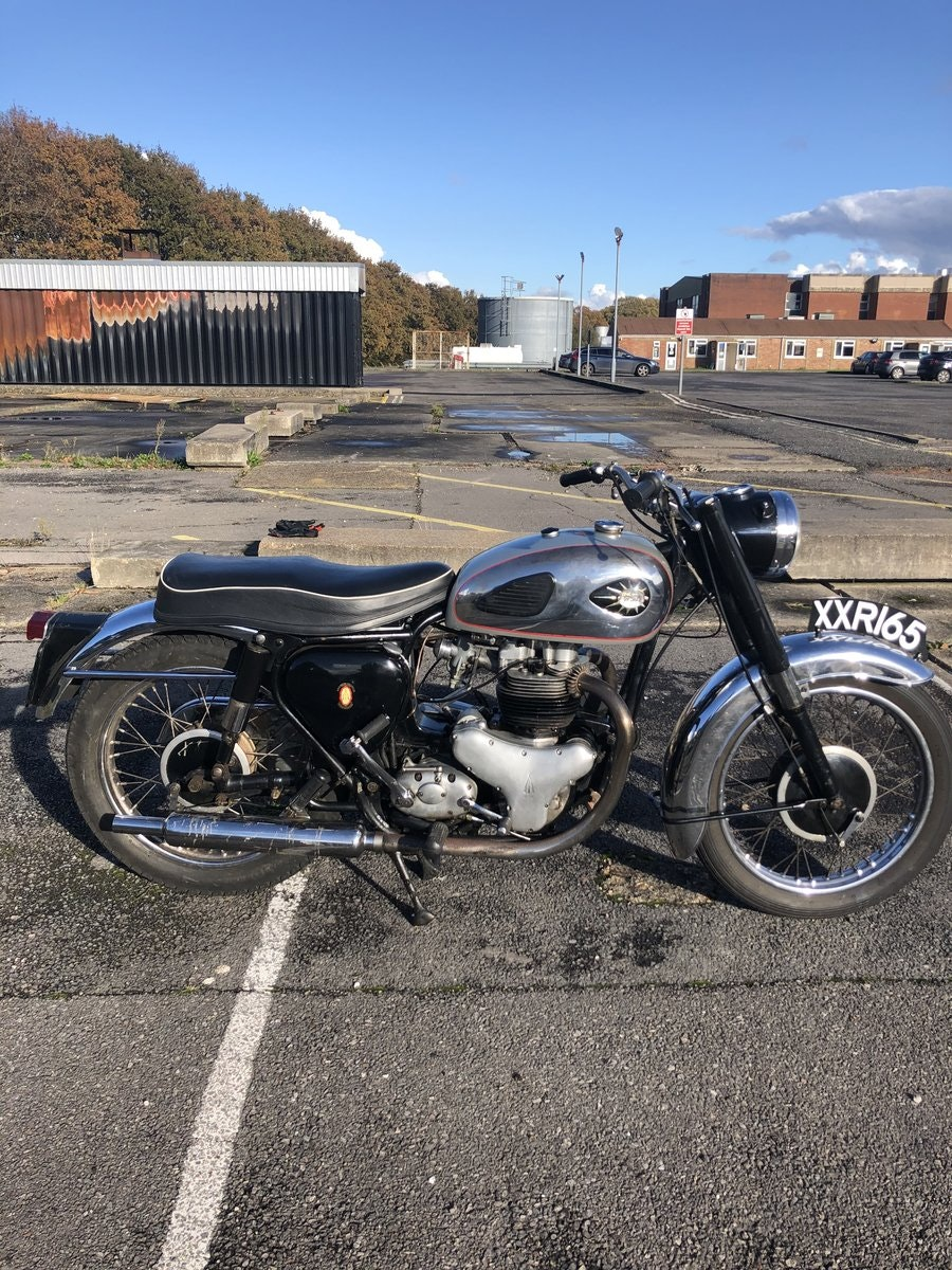 1959 BSA A10 super Rocket SOLD (picture 1 of 6)