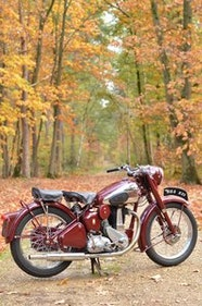 Picture of 1954 BSA B33  fully restored matching numbers