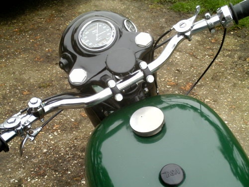 1957 BSA S/A B33 500CC For Sale (picture 4 of 6)