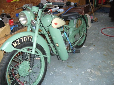 Picture of 1949 classic bsa d1 bantam For Sale