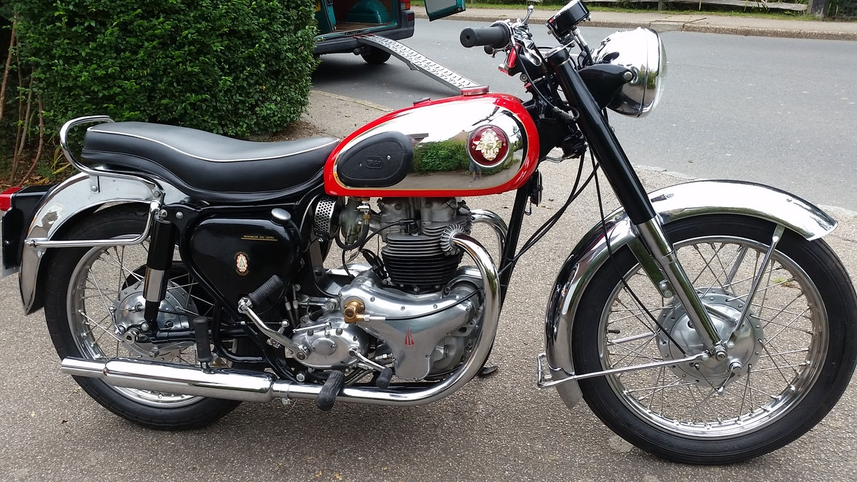 1957 BSA A10R Road Rocket 650cc Twin For Sale (picture 1 of 6)