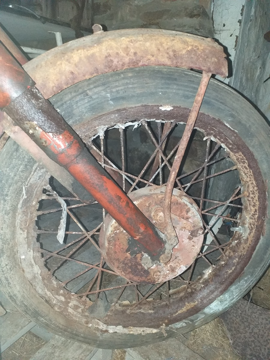 1950 BSA B31  - Barn Find For Sale (picture 6 of 7)