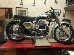 1955 Bsa A7 Earls Court sectioned machine For Sale (picture 1 of 10)