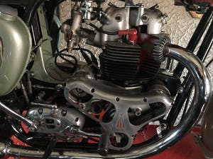 1955 Bsa A7 Earls Court sectioned machine For Sale (picture 3 of 10)