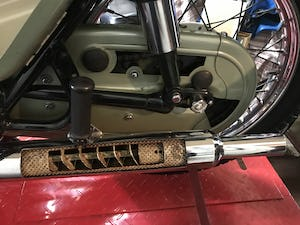 1955 Bsa A7 Earls Court sectioned machine For Sale (picture 5 of 10)