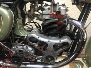 1955 Bsa A7 Earls Court sectioned machine For Sale (picture 9 of 10)