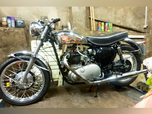 1959 BSA A10 Gold Flash Nut and Bolt Restoration For Sale (picture 1 of 12)