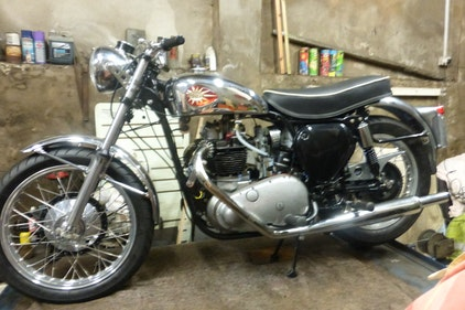 Picture of 1959 BSA A10 Gold Flash Nut and Bolt Restoration For Sale