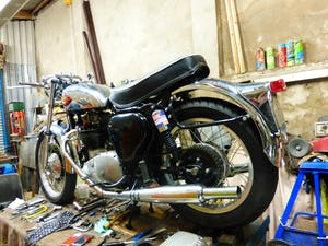 1959 BSA A10 Gold Flash Nut and Bolt Restoration For Sale (picture 2 of 12)