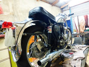 1959 BSA A10 Gold Flash Nut and Bolt Restoration For Sale (picture 3 of 12)