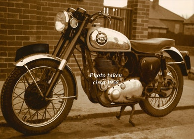 Picture of 1955 BSA DB34 Goldstar For Sale