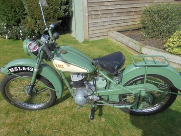 Picture of 1952 Bsa bantam d1 125cc plunger well loved bike For Sale