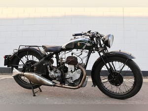 1931 BSA 1932 W32-6 500cc SV 4.99 HP - Original Condition For Sale (picture 1 of 20)