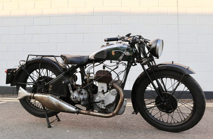 Picture of 1931 BSA 1932 W32-6 500cc SV 4.99 HP - Original Condition For Sale
