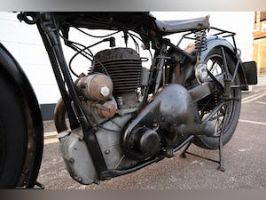 1931 BSA 1932 W32-6 500cc SV 4.99 HP - Original Condition For Sale (picture 16 of 20)
