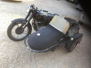 Picture of BSA A10 Golden flash 650cc plunger outfit £6995 For Sale